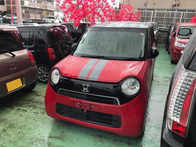 沖縄の中古車 ホンダ N-ONE 車両価格 69万円 リ済込 2013(平成25)年 5.3万km レッドII