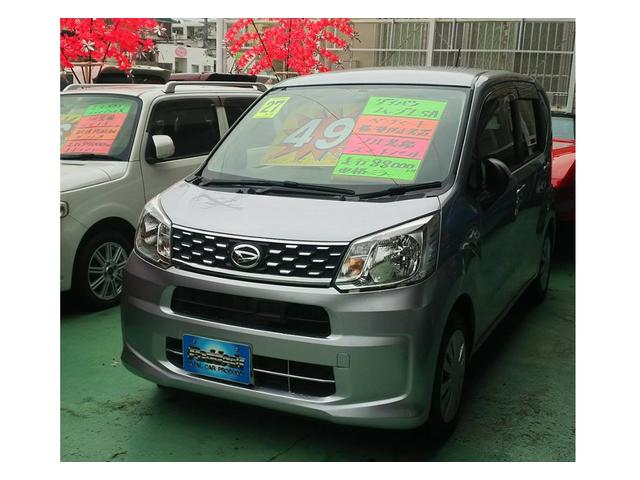 沖縄の中古車 ダイハツ ムーヴ 車両価格 49万円 リ済込 2015(平成27)年 8.8万km シルバー