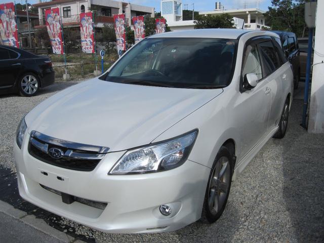 沖縄の中古車 スバル エクシーガ 車両価格 49万円 リ済込 2012(平成24)年 11.9万km パールホワイト