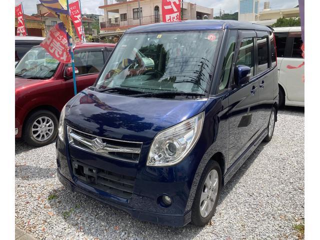 沖縄の中古車 スズキ パレット 車両価格 35万円 リ済込 2008(平成20)年 11.5万km ダークブルー