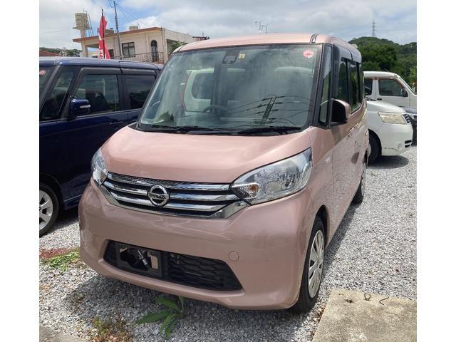 沖縄県の中古車ならデイズルークス X 全方位モニター ナビ/TV サーキュレーター プッシュスタート