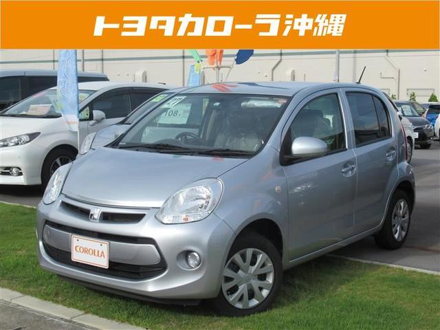 沖縄の中古車 トヨタ パッソ 車両価格 80万円 リ済別 平成27年 5.9万km シルバー