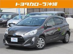 沖縄の中古車 トヨタ アクア 車両価格 119万円 リ済別 平成27年 6.6万K グレー