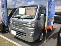 沖縄の中古車 ダイハツ ハイゼットトラック 車両価格 87万円 リ済別 平成27年 1.8万K シルバー