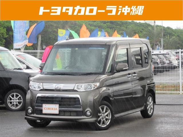 沖縄の中古車 ダイハツ タント 車両価格 98万円 リ済別 平成24年 3.5万km グレー