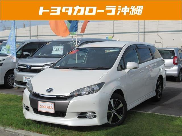 沖縄の中古車 トヨタ ウィッシュ 車両価格 152万円 リ済別 平成25年 3.6万km パールマイカ