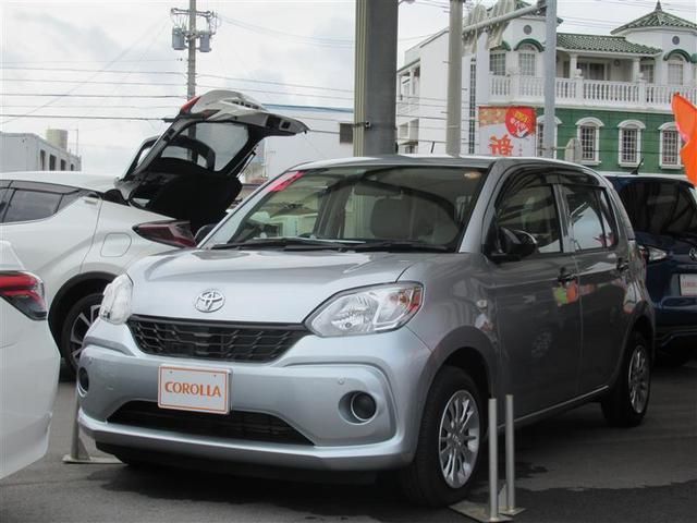 沖縄の中古車 トヨタ パッソ 車両価格 89万円 リ済別 平成28年 1.0万km シルバー
