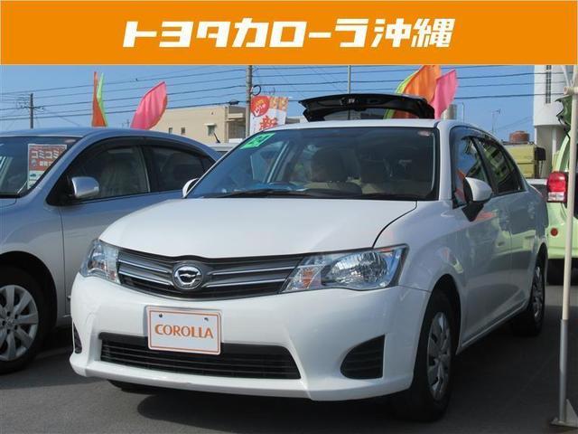 沖縄の中古車 トヨタ カローラアクシオ 車両価格 69万円 リ済別 平成24年 2.1万km スーパーホワイト2