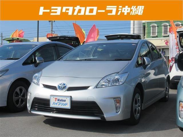 沖縄の中古車 トヨタ プリウス 車両価格 112万円 リ済別 2012(平成24)年 6.0万km シルバー