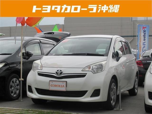 沖縄の中古車 トヨタ ラクティス 車両価格 85万円 リ済別 2013(平成25)年 3.5万km パールマイカ