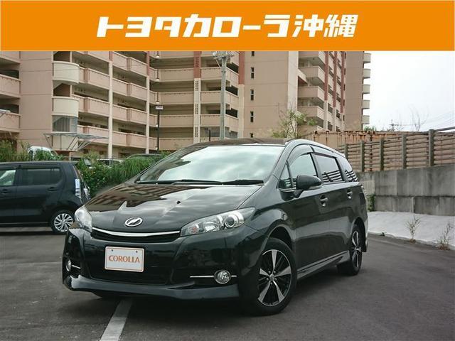沖縄の中古車 トヨタ ウィッシュ 車両価格 105万円 リ済別 2013(平成25)年 4.9万km ブラック