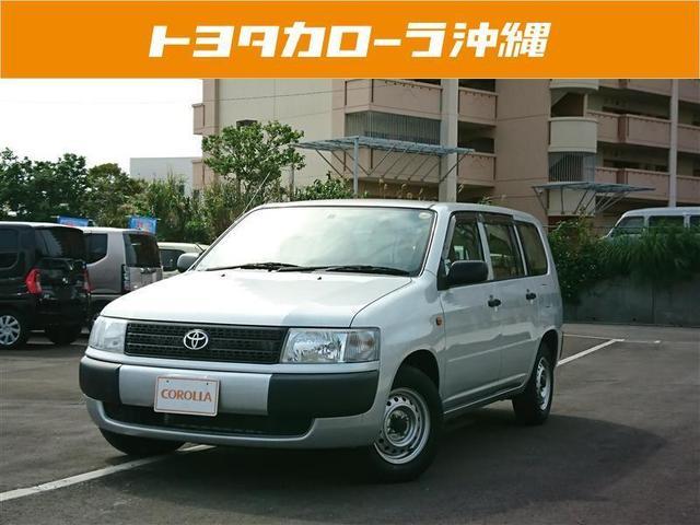沖縄の中古車 トヨタ プロボックスバン 車両価格 93万円 リ済別 2013(平成25)年 1.7万km シルバー