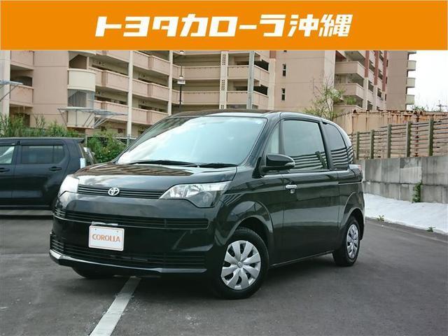沖縄の中古車 トヨタ スペイド 車両価格 104万円 リ済別 2014(平成26)年 1.3万km ブラック
