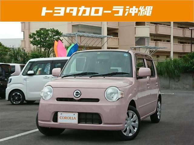 沖縄の中古車 ダイハツ ミラココア 車両価格 48万円 リ済別 2012(平成24)年 4.9万km ピンク