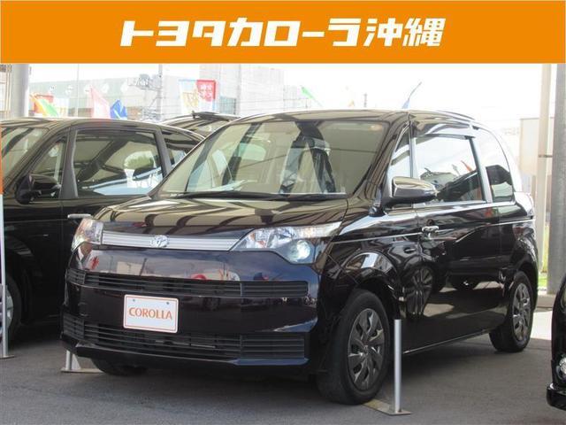 沖縄の中古車 トヨタ スペイド 車両価格 116万円 リ済別 2014(平成26)年 1.8万km ブラック