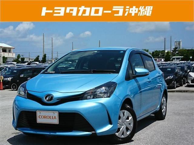 沖縄の中古車 トヨタ ヴィッツ 車両価格 86万円 リ済別 2014(平成26)年 2.6万km ブルー