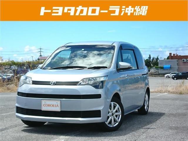 沖縄の中古車 トヨタ スペイド 車両価格 87万円 リ済別 2013(平成25)年 4.6万km ブルー