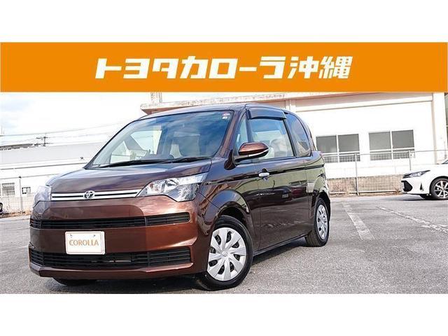 沖縄の中古車 トヨタ スペイド 車両価格 119万円 リ済別 2016(平成28)年 2.8万km ブラウン