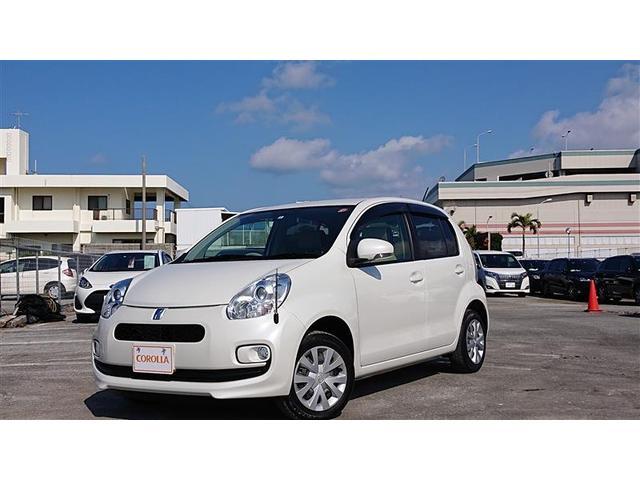 沖縄の中古車 トヨタ パッソ 車両価格 81万円 リ済別 2014(平成26)年 3.5万km パールマイカ