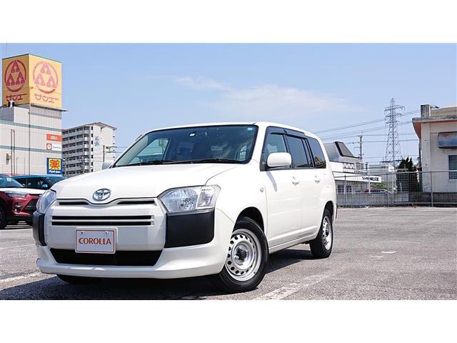 沖縄の中古車 トヨタ プロボックスバン 車両価格 97万円 リ済別 2015(平成27)年 7.2万km ホワイト