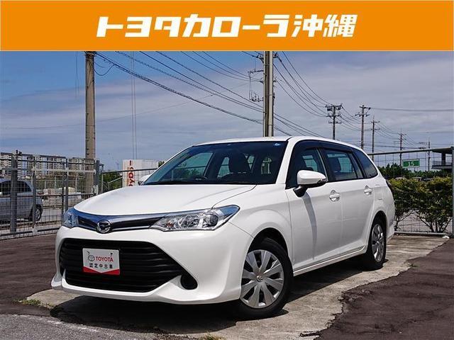 沖縄の中古車 トヨタ カローラフィールダー 車両価格 128万円 リ済別 2016(平成28)年 1.6万km スーパーホワイト2