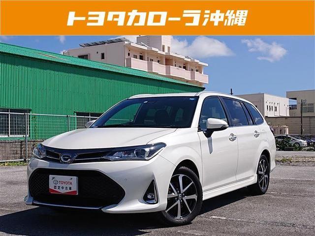 沖縄の中古車 トヨタ カローラフィールダー 車両価格 200万円 リ済別 2019年 1.0万km パールマイカ