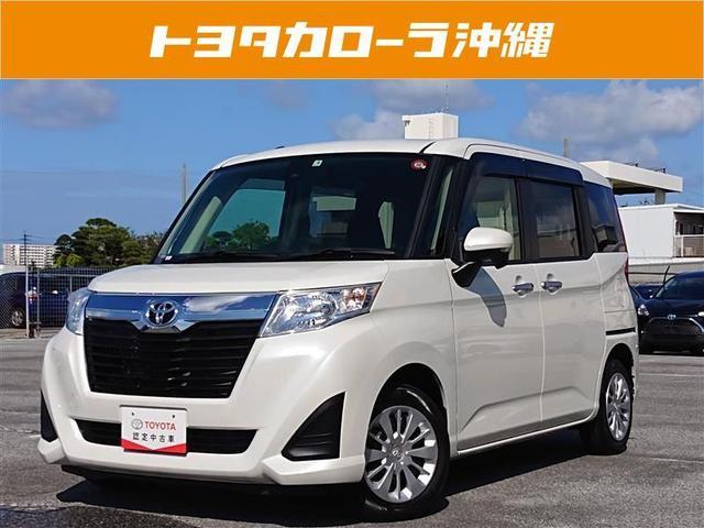 沖縄の中古車 トヨタ ルーミー 車両価格 155万円 リ済別 2017(平成29)年 1.3万km パールマイカ