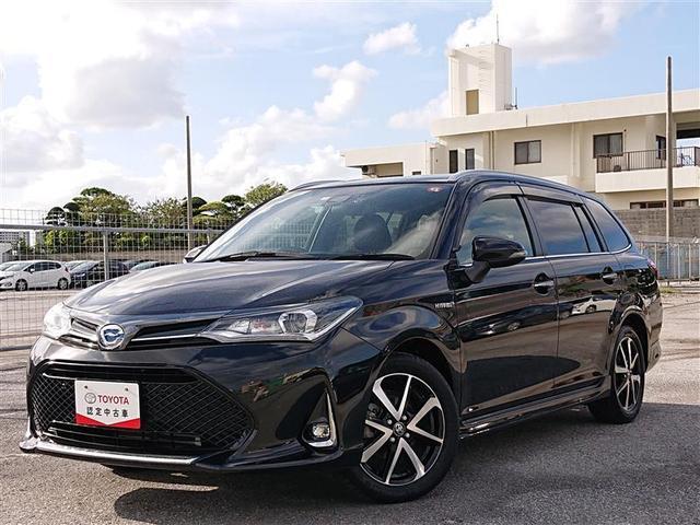 沖縄県の中古車ならカローラフィールダー ハイブリッドG ダブルバイビー