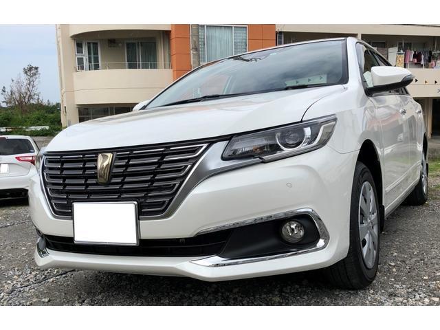 沖縄の中古車 トヨタ プレミオ 車両価格 265万円 リ済込 平成30年 90km ホワイトII