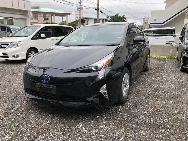 沖縄の中古車 トヨタ プリウス 車両価格 178万円 リ済込 2016(平成28)年 10.3万km ブラックM