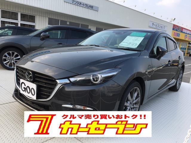 沖縄の中古車 マツダ アクセラスポーツ 車両価格 150万円 リ済込 2016(平成28)年 3.5万km グレー