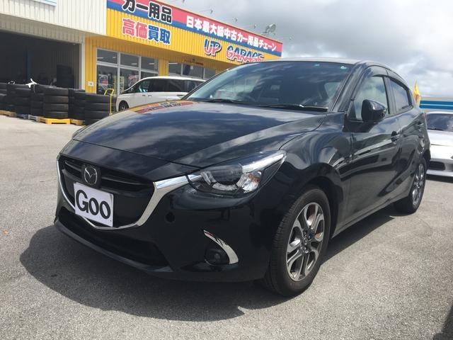 沖縄の中古車 マツダ デミオ 車両価格 215万円 リ済込 2016(平成28)年 0.8万km ブラック