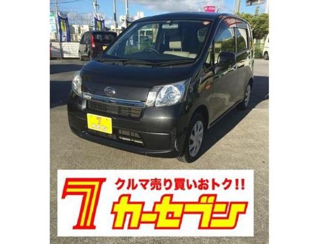 沖縄の中古車 ダイハツ ムーヴ 車両価格 52万円 リ済込 2013(平成25)年 8.6万km ブラック