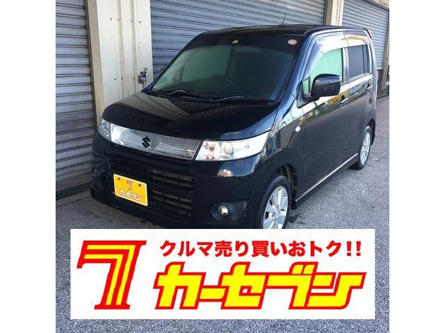 沖縄県の中古車ならワゴンRスティングレー X キーレス オートエアコン 純正アルミホイル