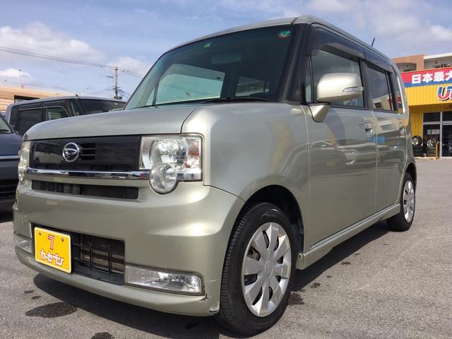 沖縄の中古車 ダイハツ ムーヴコンテ 車両価格 25万円 リ済込 2010(平成22)年 5.0万km ゴールドM