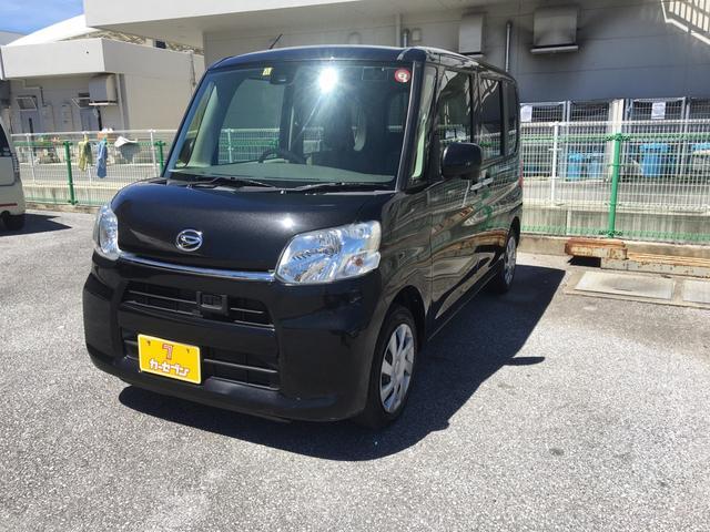 沖縄県の中古車ならタント L SAIII ナビ キーレス 衝突軽減ブレーキ