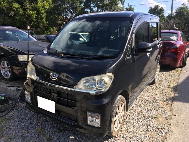 沖縄の中古車 ダイハツ タントエグゼ 車両価格 34万円 リ済込 2011(平成23)年 9.8万km ブラックM