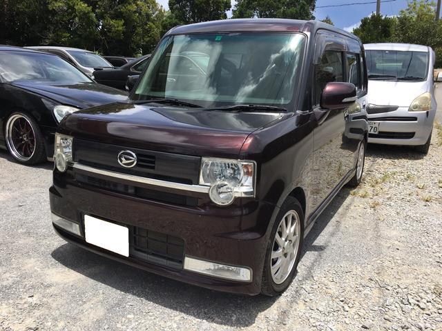沖縄の中古車 ダイハツ ムーヴコンテ 車両価格 43万円 リ済込 2011(平成23)年 7.5万km ブラウンM