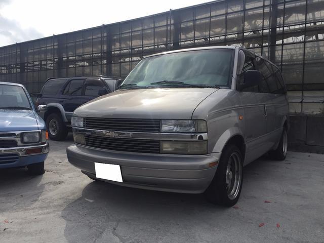 沖縄の中古車 シボレー シボレーアストロ 車両価格 60万円 リ済込 1997(平成9)年 20.1万km シルバー