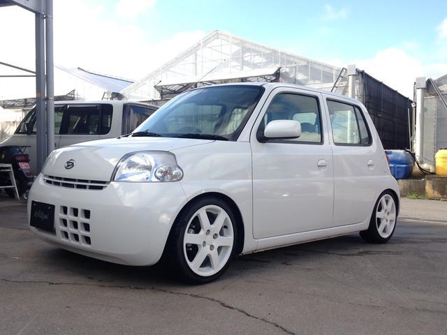 沖縄の中古車 ダイハツ エッセ 車両価格 40万円 リ済込 平成18年 9.0万km w24