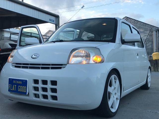 沖縄の中古車 ダイハツ エッセ 車両価格 25万円 リ済込 2006(平成18)年 8.7万km パールIII