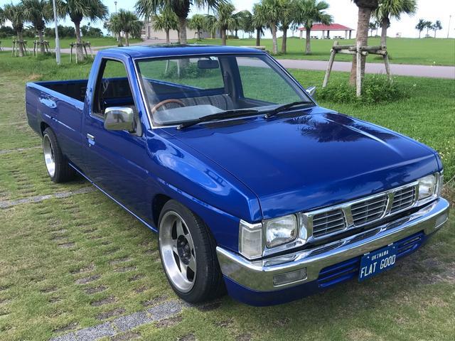 沖縄の中古車 日産 ダットサントラック 車両価格 150万円 リ済込 1990(平成2)年 5.5万km ブルーM