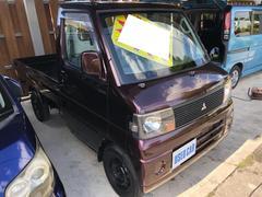沖縄の中古車 三菱 ミニキャブトラック 車両価格 42万円 リ済込 平成18年 4.2万K ブラウンM