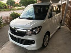 沖縄の中古車 スズキ ソリオバンディット 車両価格 69万円 リ済込 平成25年 8.2万K パールホワイト