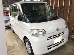 沖縄の中古車 ダイハツ タント 車両価格 32万円 リ済込 平成20年 10.5万K ホワイト
