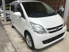 沖縄の中古車 ダイハツ ムーヴ 車両価格 25万円 リ済込 平成19年 10.5万K パールM