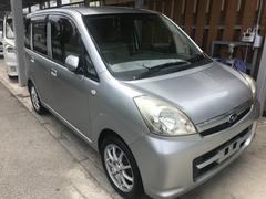 沖縄の中古車 スバル ステラ 車両価格 19万円 リ済込 平成20年 11.0万K シルバーM