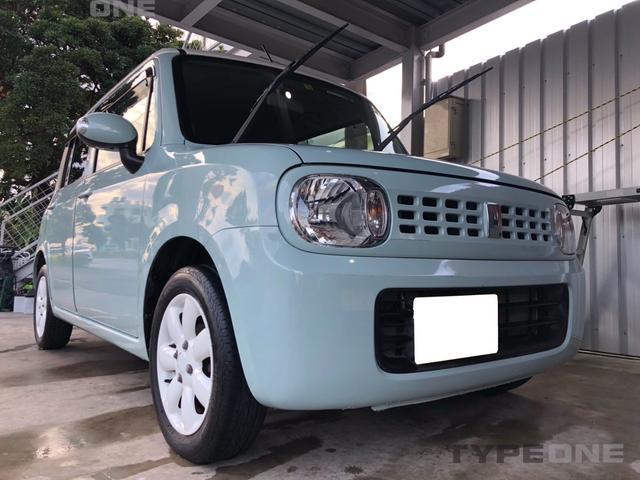 沖縄の中古車 スズキ アルトラパン 車両価格 69万円 リ済込 平成24年 3.8万km ブルーM