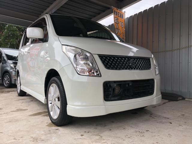 沖縄の中古車 スズキ ワゴンR 車両価格 39万円 リ済込 平成21年 10.5万km パールホワイト