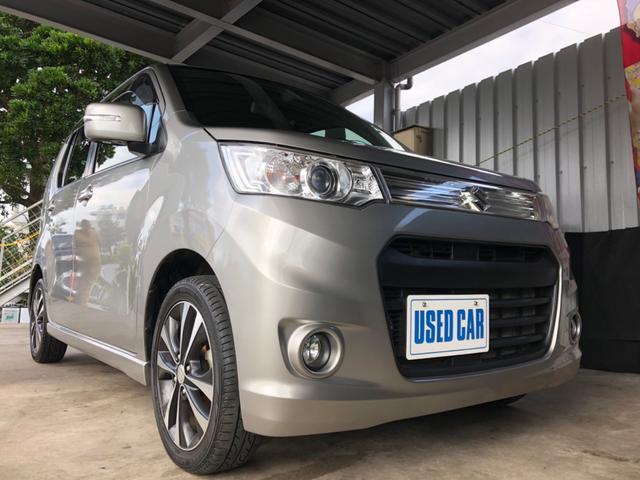 沖縄県の中古車ならワゴンRスティングレー 2年保証 T Sエネチャージ ブレーキサポート搭載車 本土車